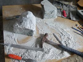 Simionie Kanajuq et la pierre à savon
