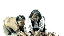 Emmanuelle, Akinisie et le qilaut (ᕿᓚᐅᑦ) et L'herbier boréal