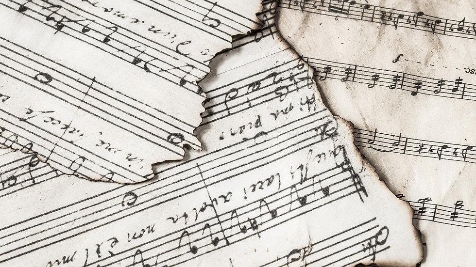 Arrangement Ihrer Musik für Klavier