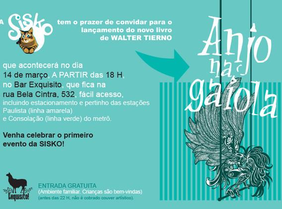 Lançamento de Anjo na Gaiola - 2020