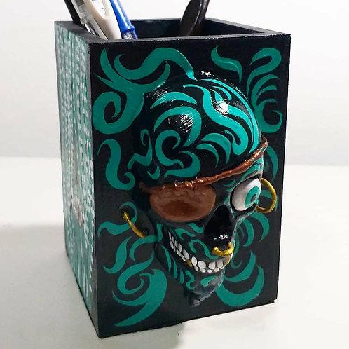 Porta-lápis Pirata