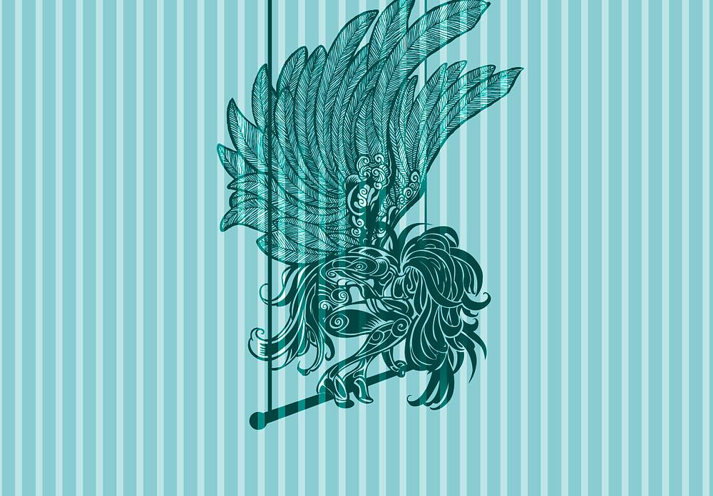 ilustra promocional anjo