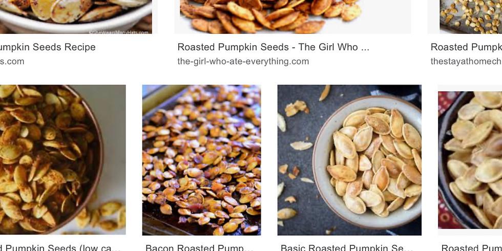 Air Fryer Class: Roasted Pumpkin Seeds