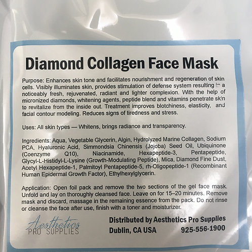 Diamond Collagen Mask NEW
