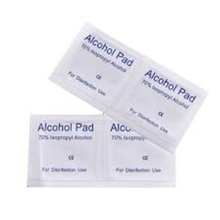 Alcohol prep pads 10ct