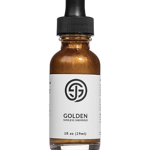 Golden Shimmer Drops