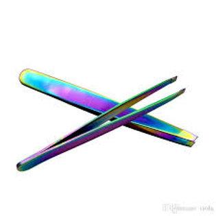Tweezer Slant/Titanium