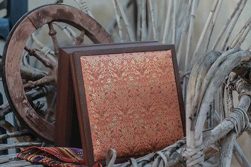 Vierkante opbergdoos 24 x 24 cm