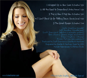 The EP cover, back