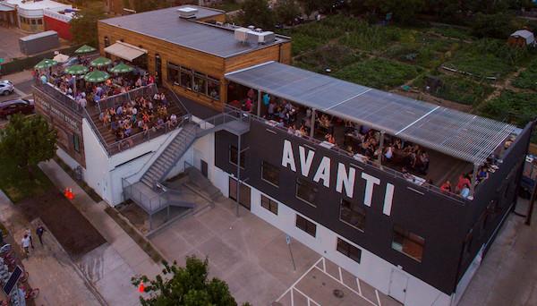Avanti Denver rooftop patios