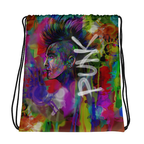 Punk / Drawstring Bag