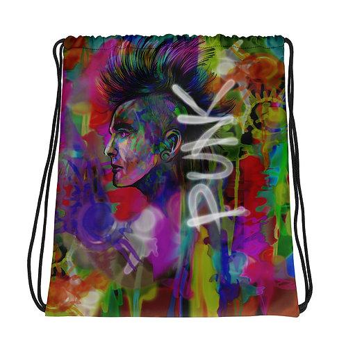 Punk / Drawstring Bag