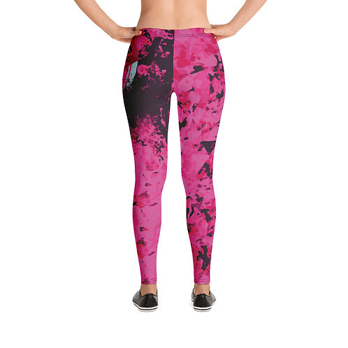 """Leggings """"Star"""" From my Original Art wear collection."""