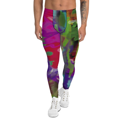 """Men's Leggings """"Fusion""""  from my Art wear original collection."""