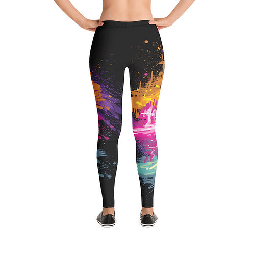 """Leggings  """"Cosmo"""" From my Art wear collection."""
