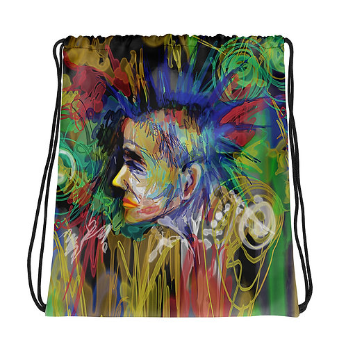 Punk II / Drawstring Bag