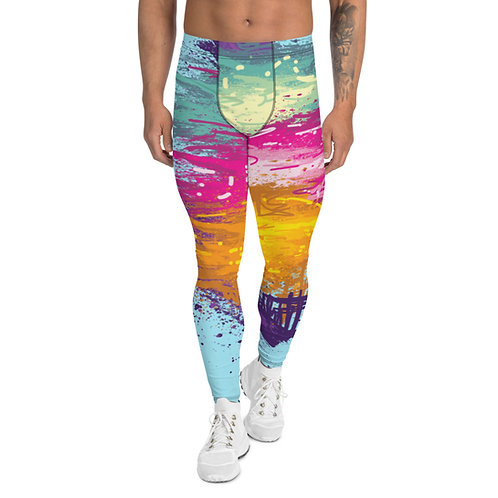 """Men's Leggings """"Cosmo"""" From my original Art wear collection."""