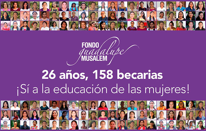 ¡Sí a la educación de las mujeres! FGM