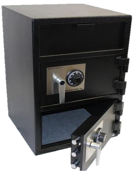 Cash Vault Top/Front 2 Door CLock, 30""
