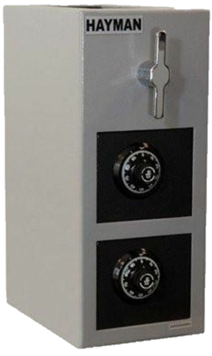 Cash Vault Budget Handle 2 CLock, 19""