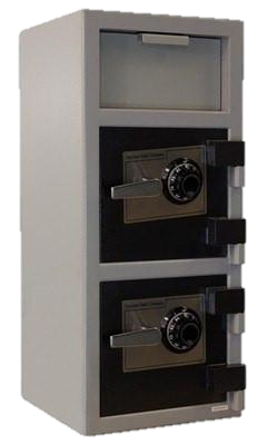 Cash Vault Top/Front 2 Door CLock, 32""