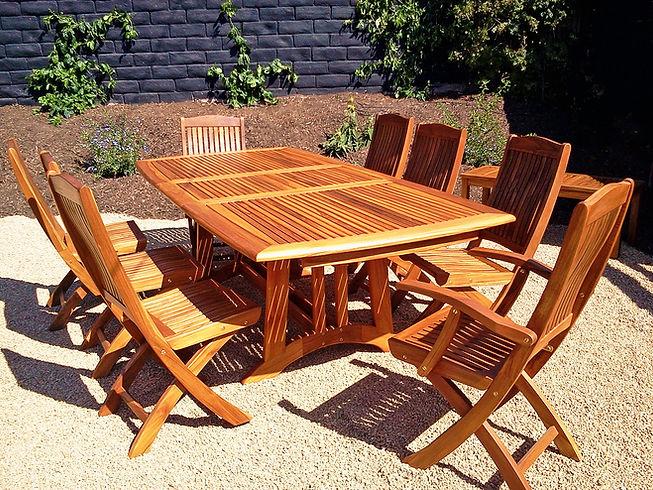 Teak Outdoor Furniture Santa Barbara Teak Collection