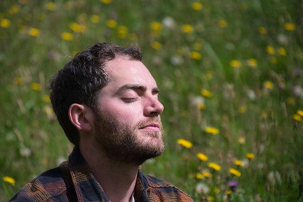Mindful meditation in nature