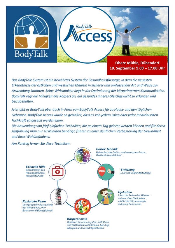 Access BodyTalk