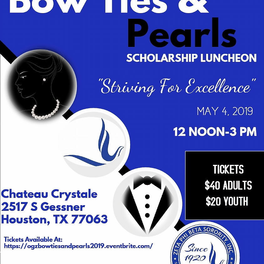 Bow Ties & Pearls Scholarship Luncheon