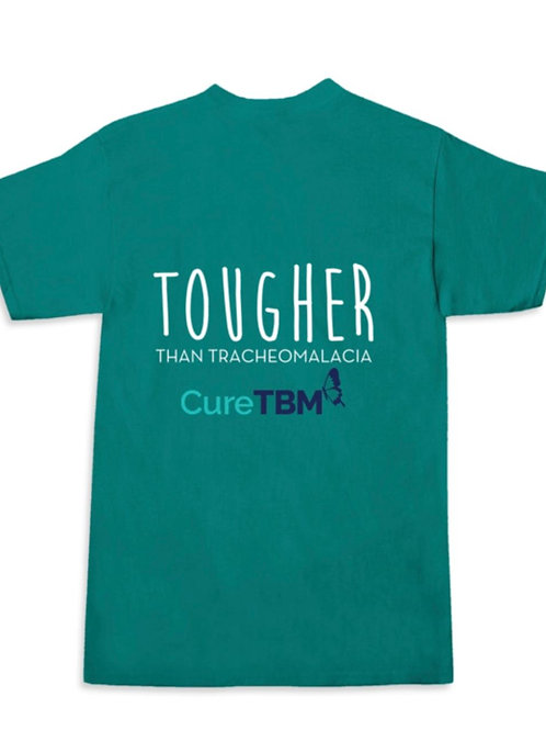 """Tougher Than Tracheomalacia""- Tropical Blue Shirt-Kids"
