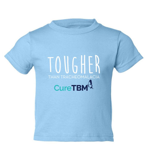 """Tougher Than Tracheomalacia""-Light Blue Shirt-Toddler"