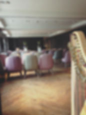 Katie Mackenzie, harpist available for weddings, Scotland