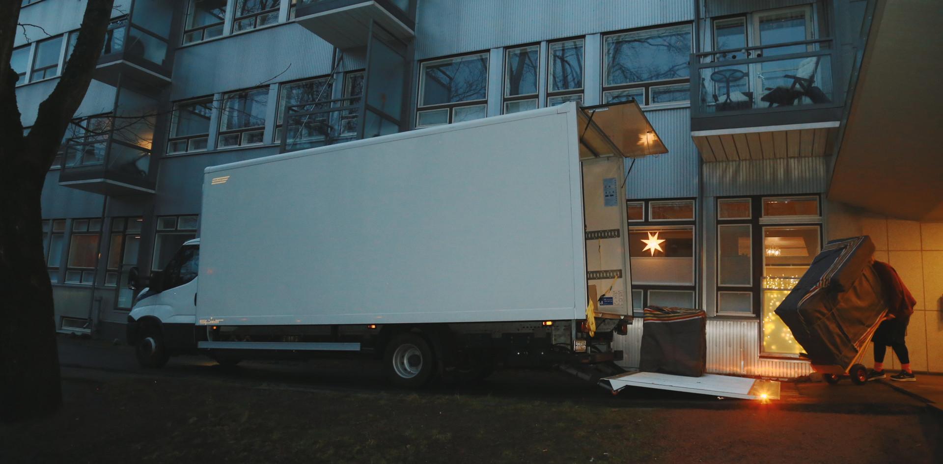 Christmas removal to Luxembourg