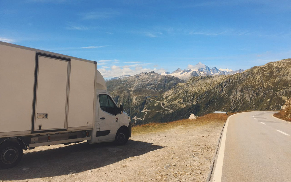 Matkalla Zermattiin