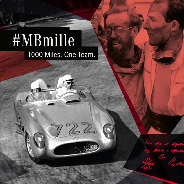 Mille Miglia für Mercedes-Benz