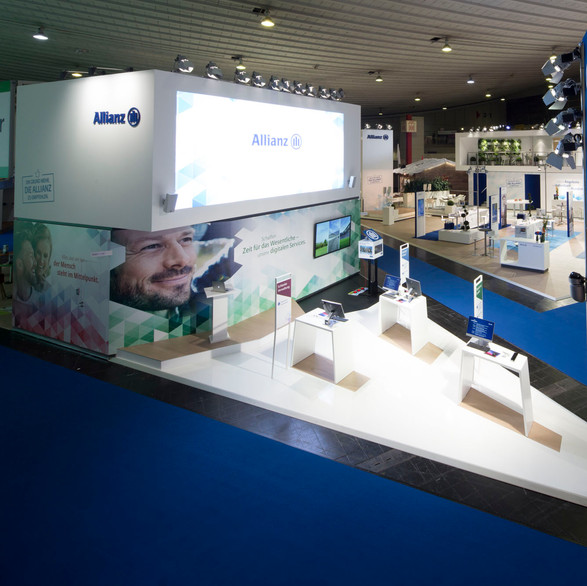 Allianz - DKM Messestand