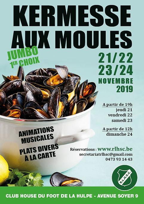 Football La Hulpe Moules 2019