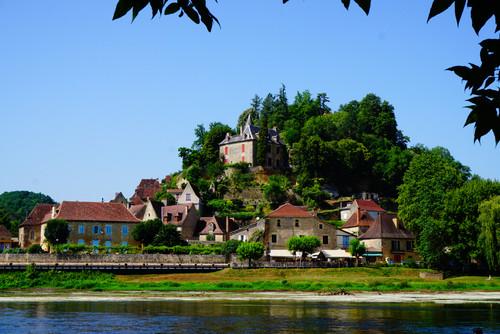 Dordogne riverside town