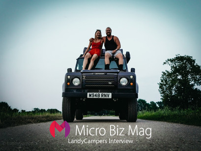 Landy Campers' Interview with Micro Biz Mag