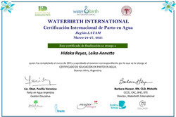 waterbirth certificate