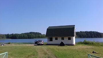 Летний Дом на берегу озера.Псковская область,Себежский район д.Сомино