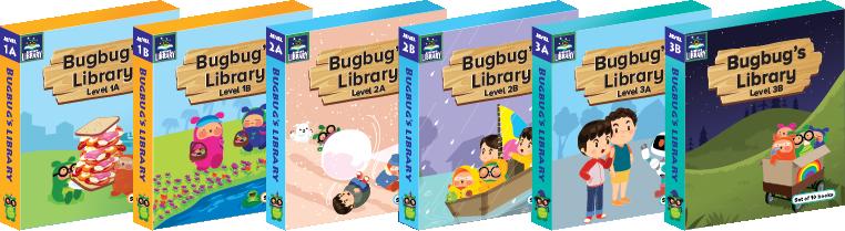 Bugbug's Library - 3個級別 6套60本