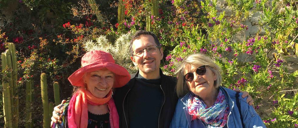 Parc du Mugel - Michèle, Faïz, Christine