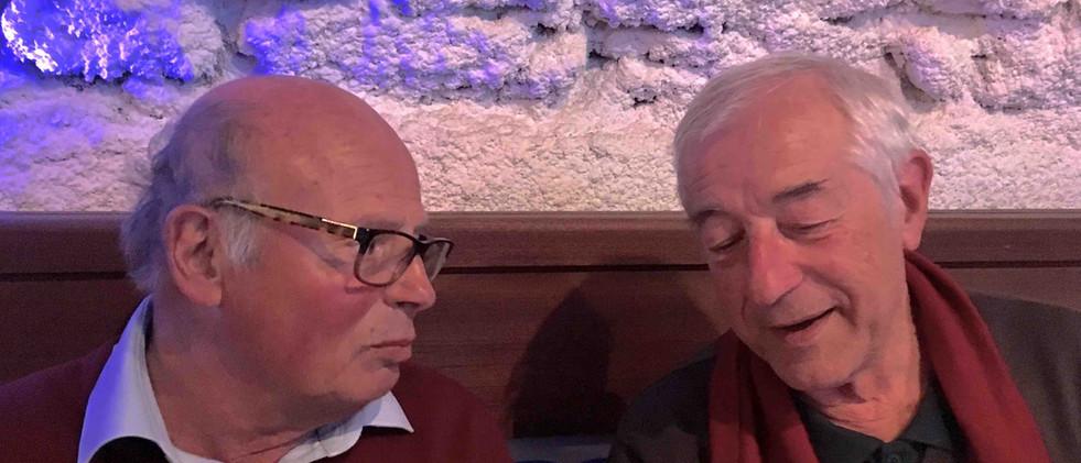 Dîner à La Ciotat - Yves et Jean-Marc