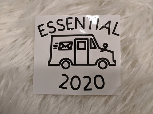 Mail Essential 2020 Car Decal