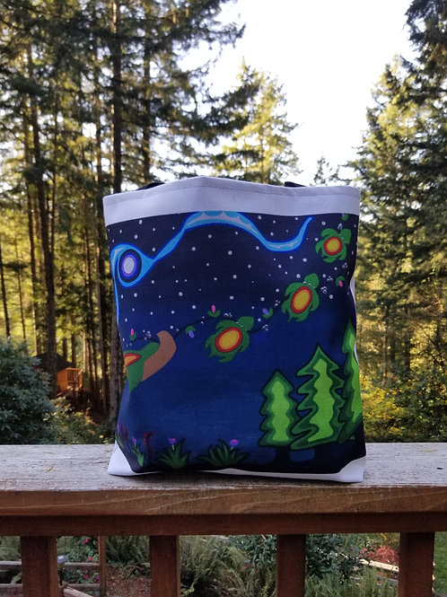 Turtle Mountain Christmas Tote