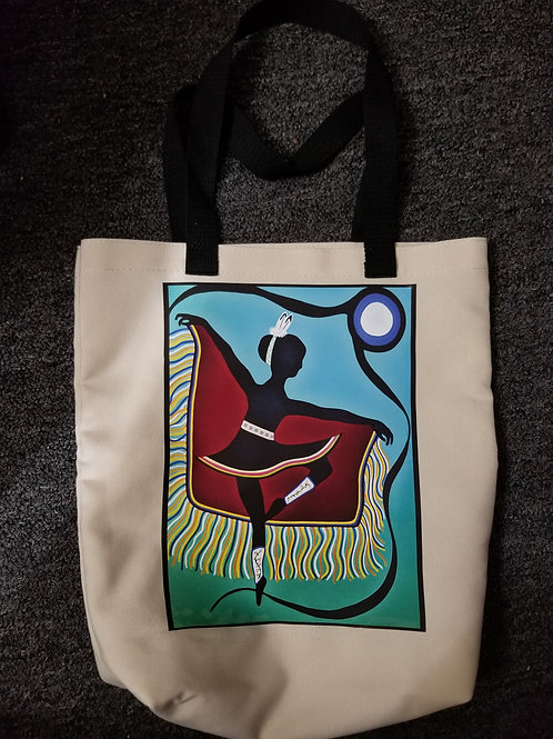 Custom Tote With 'Fancy Is Our Ballet' -Medium s