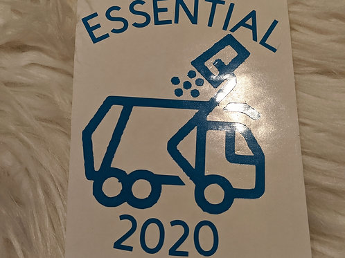 Garbage Driver Essential 2020 Car Decal