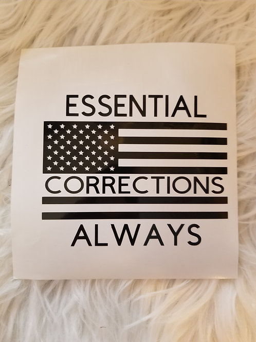 Corrections Essential