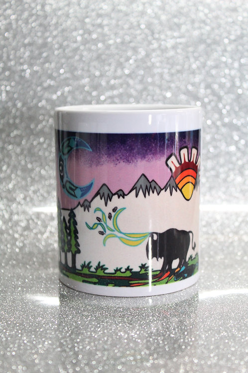 Sun, Moon Spirit Coffee Cup